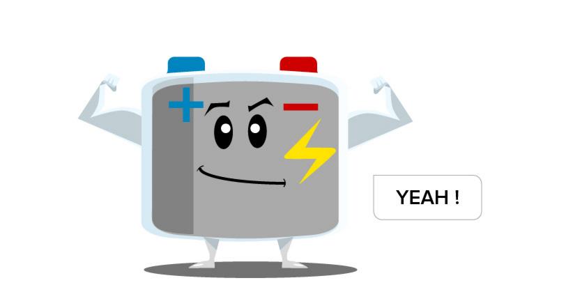 Une batterie qui dure