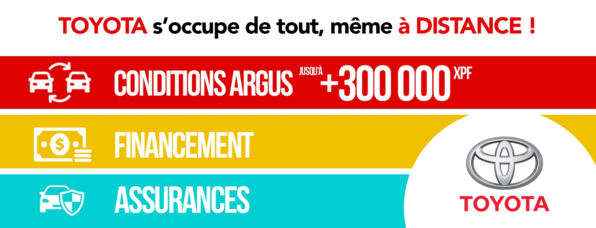 Toyota s'occupe de vous