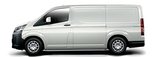 Toyota Hiace blanc