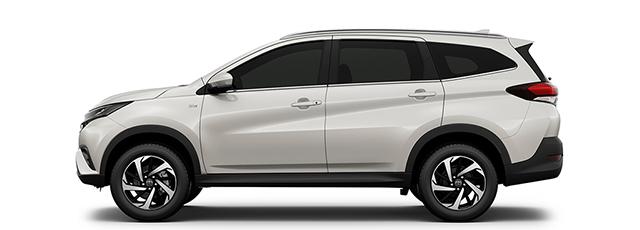 Toyota Rush blanc
